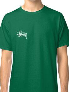 Stussy Logo Black Classic T-Shirt