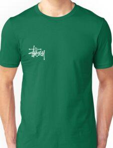 Stussy Logo Black Unisex T-Shirt