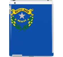 Nevada State Flag iPad Case/Skin