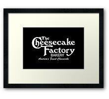 The Cheesecake Factory - White Bakery Variant Framed Print