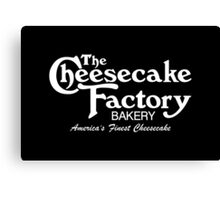 The Cheesecake Factory - White Bakery Variant Canvas Print