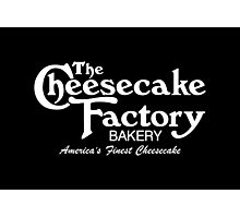 The Cheesecake Factory - White Bakery Variant Photographic Print