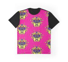 Sugar Skull Lion Man Graphic T-Shirt