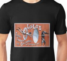 Performing Arts Posters Lolos flight through the balloons an unequaled act 1876 Unisex T-Shirt