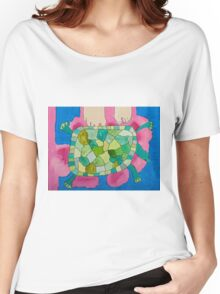 Trevor the Turtle by Mimari Women's Relaxed Fit T-Shirt