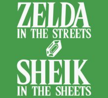 Zelda in the streets, Sheik in the sheets. by Reptar22