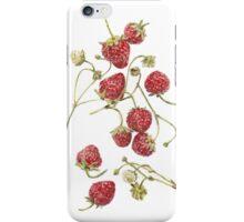 Grandmas Strawberries  iPhone Case/Skin