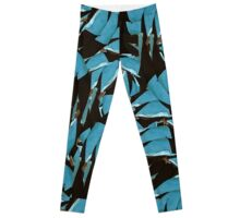 Digital Abstract Collage Leggings