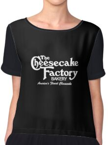 The Cheesecake Factory - White Bakery Variant Chiffon Top
