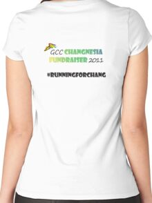 Changnesia Fundraiser 2011 Women's Fitted Scoop T-Shirt