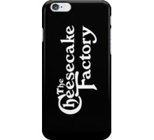 The Cheesecake Factory - White Variant iPhone Case/Skin