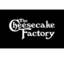 The Cheesecake Factory - White Variant Photographic Print