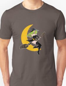 Green Witch's Moon Unisex T-Shirt