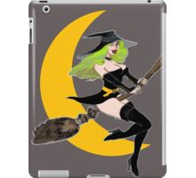 Green Witch's Moon iPad Case/Skin