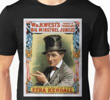 Performing Arts Posters Wm H Wests Big Minstrel Jubilee formerly of Primrose West 1757 Unisex T-Shirt