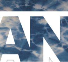 Vans Blue Tie Dye Sticker