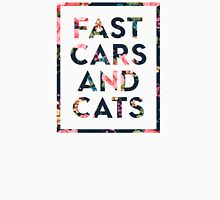 Fast Cars and Cats Unisex T-Shirt