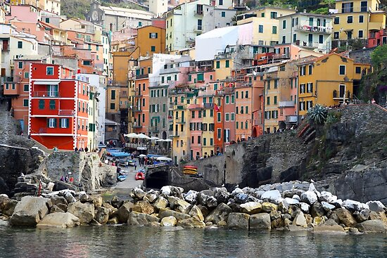 All About Italy. Piece 8 - Riomaggiore by Igor Shrayer