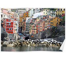 All About Italy. Piece 8 - Riomaggiore Poster