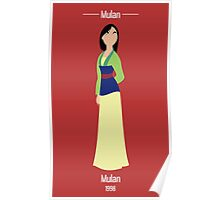 Mulan Illustration Poster
