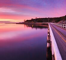 Granite Island, Victor Harbour, South Australia by Michael Boniwell