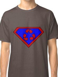 Hero, Heroine, Superhero, Super Recycling Classic T-Shirt