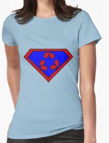 Hero, Heroine, Superhero, Super Recycling Womens Fitted T-Shirt