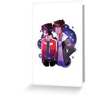 Voltron - Klance Greeting Card