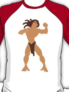 Tarzan Illustration T-Shirt