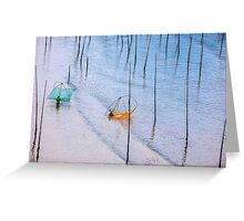 Mudflat // Xiapu, Fujian, China Greeting Card