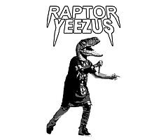 Raptor Yeezus  Photographic Print