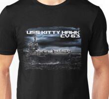Aircraft carrier Kitty Hawk Unisex T-Shirt