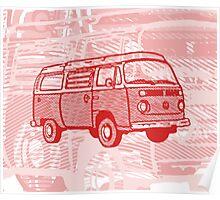 Red Bay Campervan Dub-U (please see description) Poster