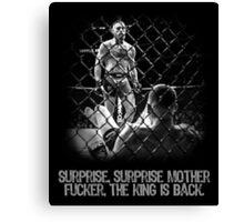 McGregor - Surprise Surprise - UFC202 Canvas Print
