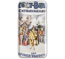 Performing Arts Posters Hurly Burly Extravaganza and Refined Vaudeville 2744 iPhone Case/Skin