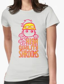 Shroom Master Teemo Womens Fitted T-Shirt