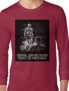 McGregor - Surprise Surprise - UFC202 Long Sleeve T-Shirt