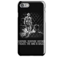 McGregor - Surprise Surprise - UFC202 iPhone Case/Skin