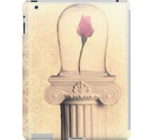 a rose in a bell jar iPad Case/Skin