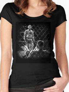 McGregor V Nate Diaz UFC202 Women's Fitted Scoop T-Shirt