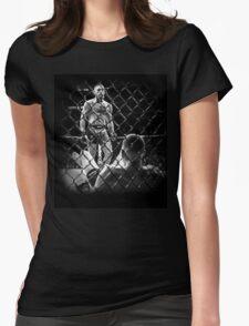 McGregor V Nate Diaz UFC202 Womens Fitted T-Shirt