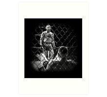 McGregor V Nate Diaz UFC202 Art Print