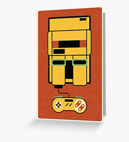 Classic Console Greeting Card