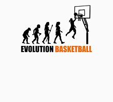 Cool Women's Basetball Evolution Silhouette  Womens Fitted T-Shirt