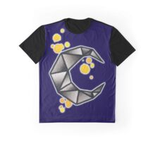 Fracture Moon Graphic T-Shirt