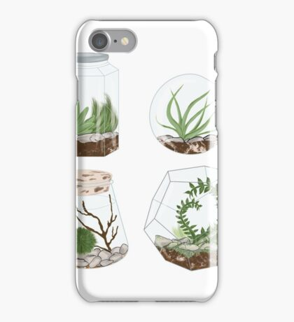 Terrariums iPhone Case/Skin