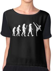 Funny Ballet Evolution Silhouette Chiffon Top