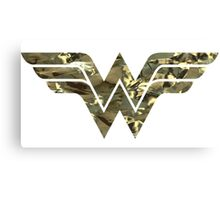 Wonder Woman Logo 04 Canvas Print