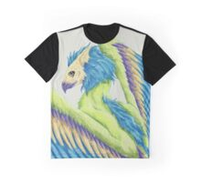 Colorful Gryphon Graphic T-Shirt