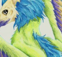 Colorful Gryphon Sticker